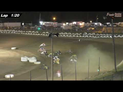 USAC Wingless Sprints & Midgets - 7/20/18 - Big Diamond Speedway