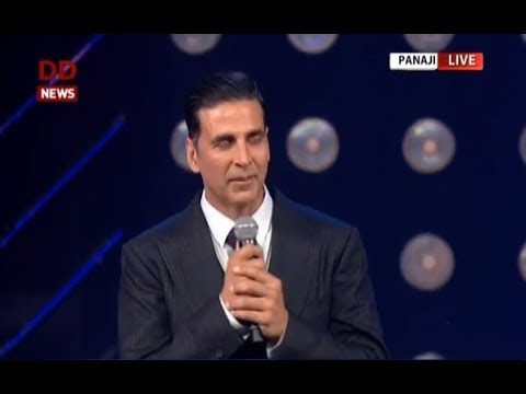 IFFI 2017: Bollywood actor Akshay Kumar speaks on Amitabh Bachchan