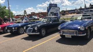 Saskatoon British car meet 2017