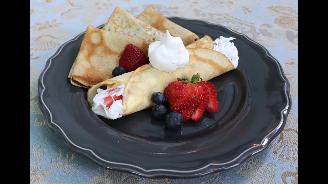 Versatile Homemade Crepes Made Easy - YouTube