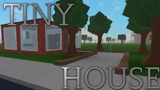 bloxburg tiny house roblox