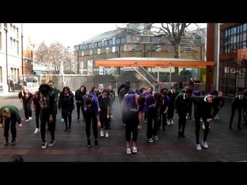 International Women's Day- Beyoncé Flashmob- St.Marylebone School