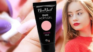 NeoNail Duo AcrylGel - TEST NA ŻYWO   KaroLove Nails   Blogodynka & Julia Kostera