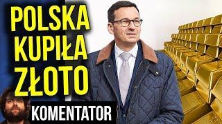 Polska Kupiła Złoto i Trzyma w Banku w Anglii - PIS COŚ WIE? - Analiza Komentator