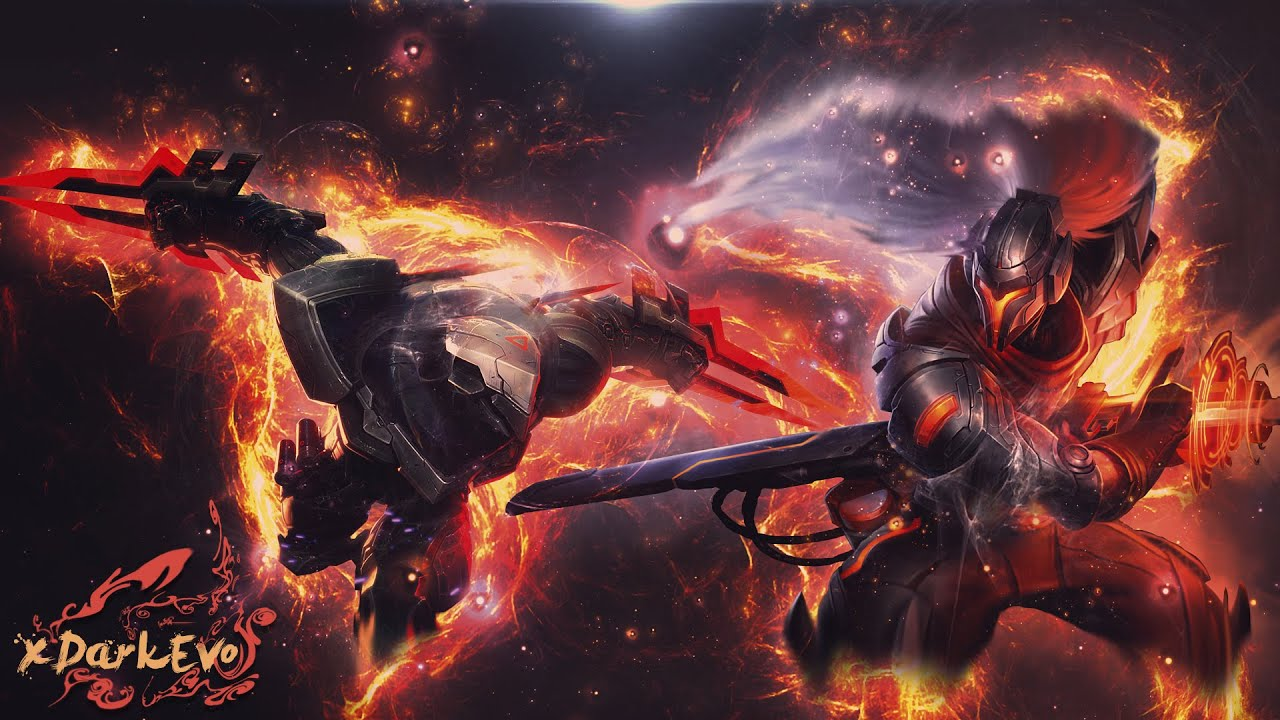Zed Galaxy Slayer Wallpaper Hd 4k: [PHOTOSHOP TUTORIAL]-cool Wallpaper-[YASUO] & [ZED]