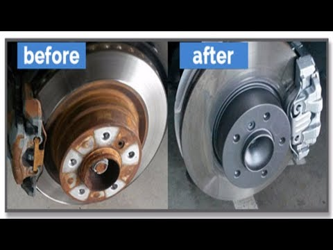 Best Way to Remove Rust From Rotors / Rusty Brakes