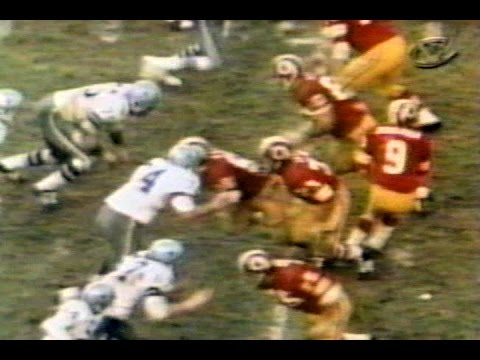 Washington Redskins 1972 Vintage Season Highlights
