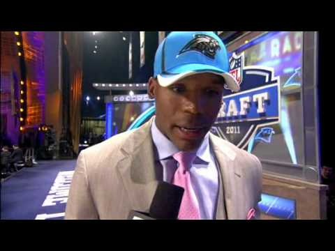 Cam Newton On Being The 1st Pick in 2011 NFL Draft