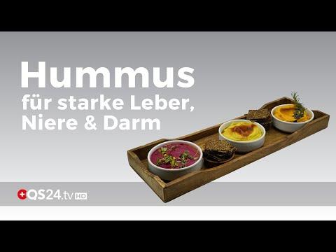 Leber, Niere und Darm stärken mit Hummus