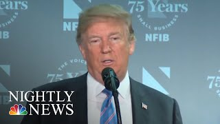 President Donald Trump Defiant About Immigration Amid Mounting Outrage | NBC Nightly News