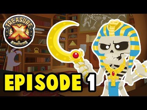 Treasure X EPISODE 1 | No Bones About It | Cartoons for Children