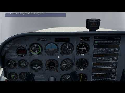 FSX C172 INSTRUMENT RATING CHECK RIDE PART 3 HD
