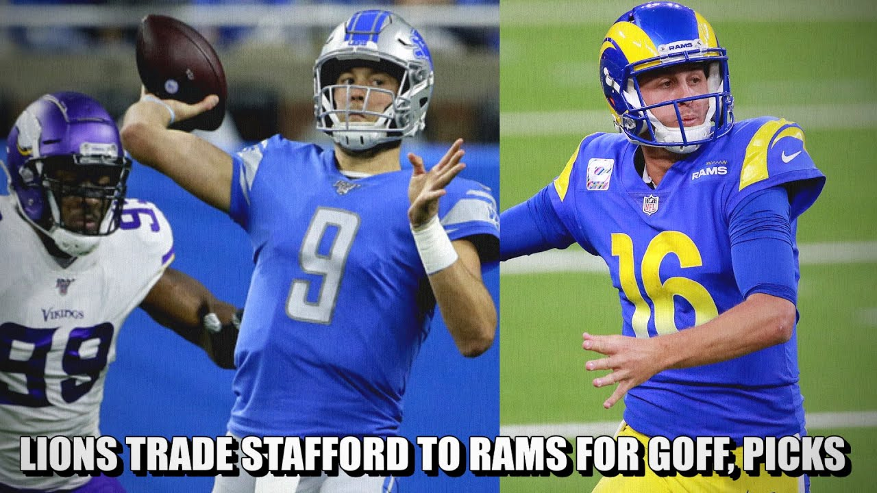 Lions to trade Matthew Stafford to Rams in blockbuster deal ...
