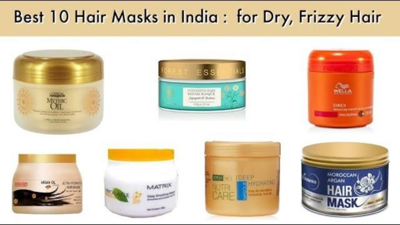 10 Best Hair Masks Available In India For Dry, Frizzy Hair recommendations