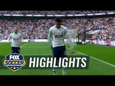 Dele Alli puts Tottenham in front early vs. Man United | 2017-18 FA Cup Highlights
