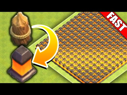 Clash Of Clans - UPGRADE WALLS