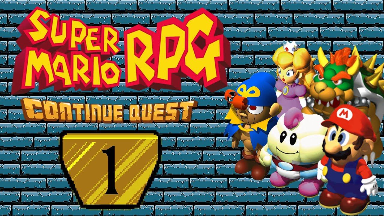 Super Mario RPG (SNES) - Part 01 - ContinueQuest