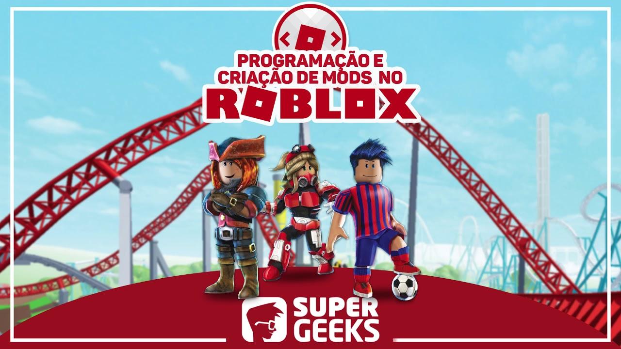 Qual Foi O Primeiro Jogo Do Roblox Aprenda A Programar E Criar Mods No Roblox Youtube