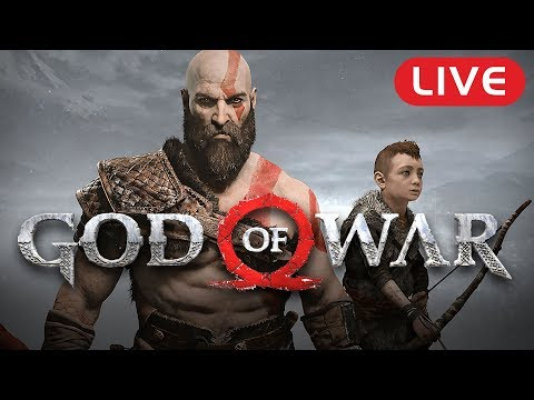 GOD OF WAR // PS4 Pro Exclusive // FIRST PLAYTHROUGH Walkthrough // Live Stream Gameplay