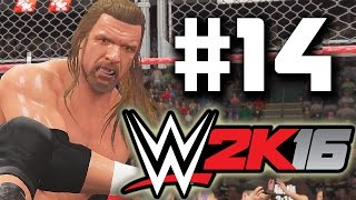 WWE 2K16 - 2K Showcase [Austin 3:16] Part 14 - 3 Stages of Hell!