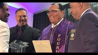 Minister Louis Farrakhan receives Lifetime Achievement Award