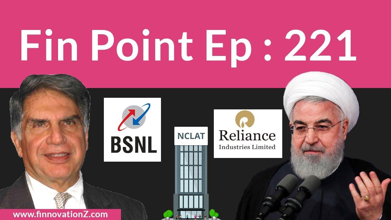 US vs Iran   Cyrus Mistry   FPI   BSNL   TATA Sons & Nusli Wadia    Latest Stock Market News   H