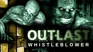 """OUTLAST: WHISTLEBLOWER!"" - Scary/Funny Moments Montage! - (Scary Horror Game DLC)"