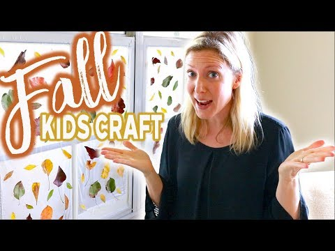 FALL KIDS CRAFT || Cheap, Easy & Fun!