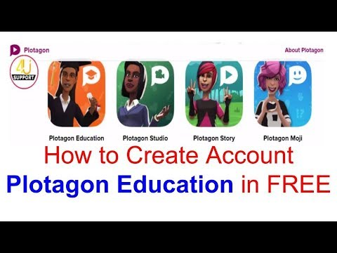 How to create account Plotagon education free on android device    latest  update 2018