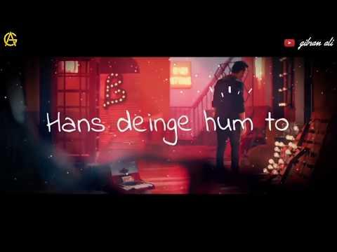 Ab Agar Tum Mile Toh Itna Yaqeen Hai || Whatsapp Status Video || Atif Aslam Lyrical Video