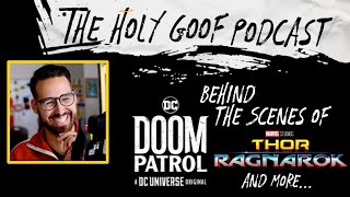 Behind the scenes of Doom Patrol, Thor: Ragnarok, and Todd McFarlance: Like Hell I Won't -