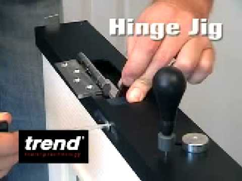 Trend Hinge Jig At Www Tool Net Co Uk Youtube