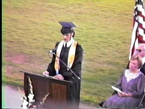 "Part of Rockdale County High School's ""Class of 87"" Graduation"