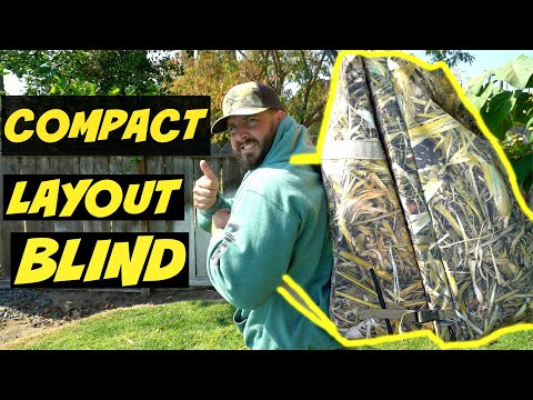 BEST Layout Blind For Waterfowl Hunting!