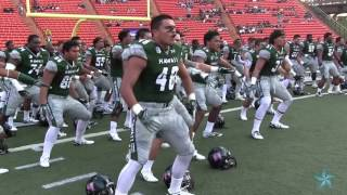 Hawaii football team haka