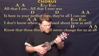 Chasing Cars - Ukulele Cover Lessson with Chords/Lyrics
