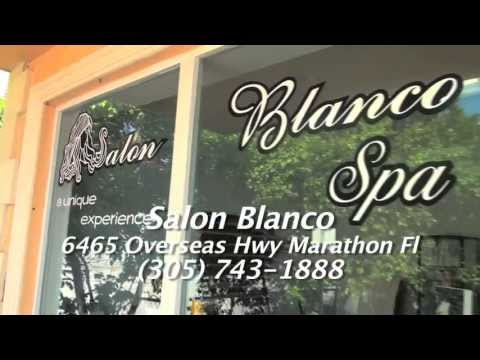 Salon Blanco Hair & Nail Salon in Marathon, Florida 15 second commercial by Conch Records