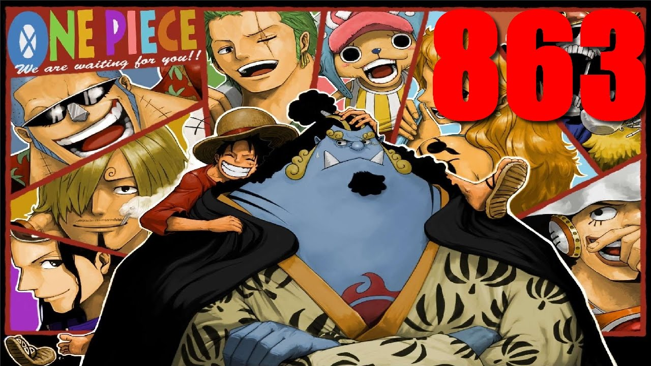 one piece review du chapitre 863 boss jinbei le 10 me mugiwara youtube. Black Bedroom Furniture Sets. Home Design Ideas