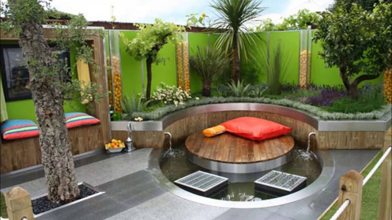 Long Narrow Backyard Design Ideas - YouTube on Long Backyard Landscaping Ideas id=85879