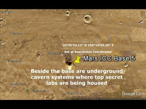 Mars ICC Base 5 and link to Google Mars Base Disclosure on ...