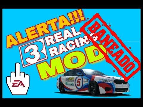 "REAL RACING 3 "" MOD"" EXPULSADO!!!  DC"