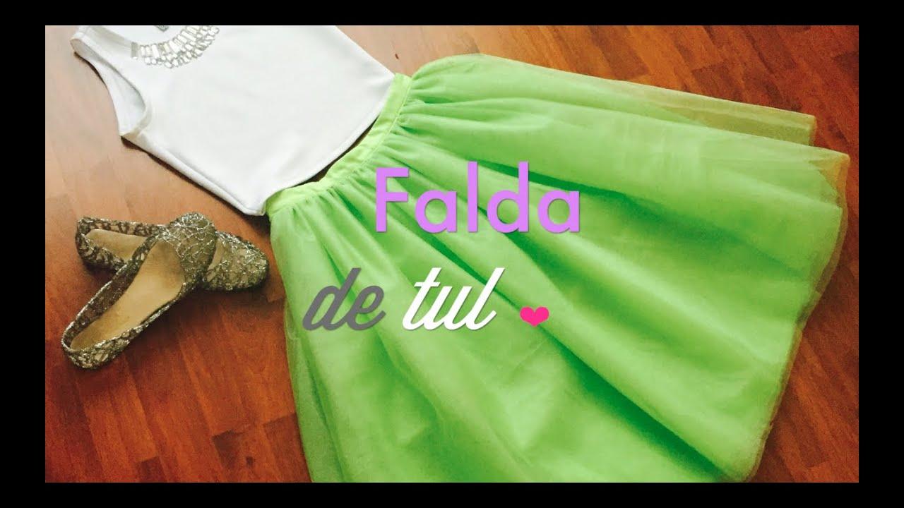 Como hacer la falda de tul m s bonita youtube - Como preparar unas judias verdes ...