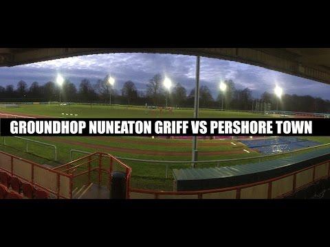 Groundhop Nuneaton Griff VS Pershore Town / Pingles Stadium