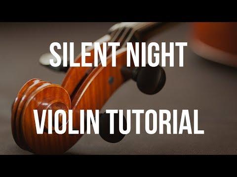 SILENT NIGHT | Easy Violin CHRISTMAS TAB Tutorial. YouTube ...
