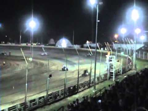 Kyle Larson - Main Event - Belleville Midget Nationals - August 6, 2011