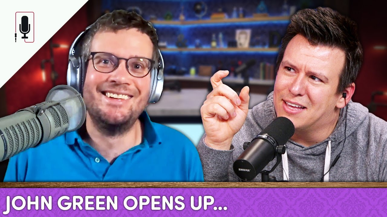John Green Reveals His Biggest Regrets, Quarantine Anxiety, How Fame Changed Him &... Ep. 43
