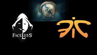 Faceless vs Fnatic Game 0  The International 2017 Highlights Dota 2