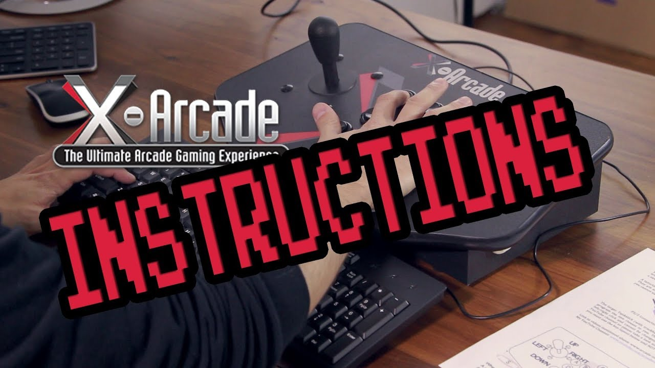 X-Arcade Joystick Programming Guide and Instructions on