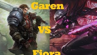 Garen VS Fiora - League of Legends Guide Commentary