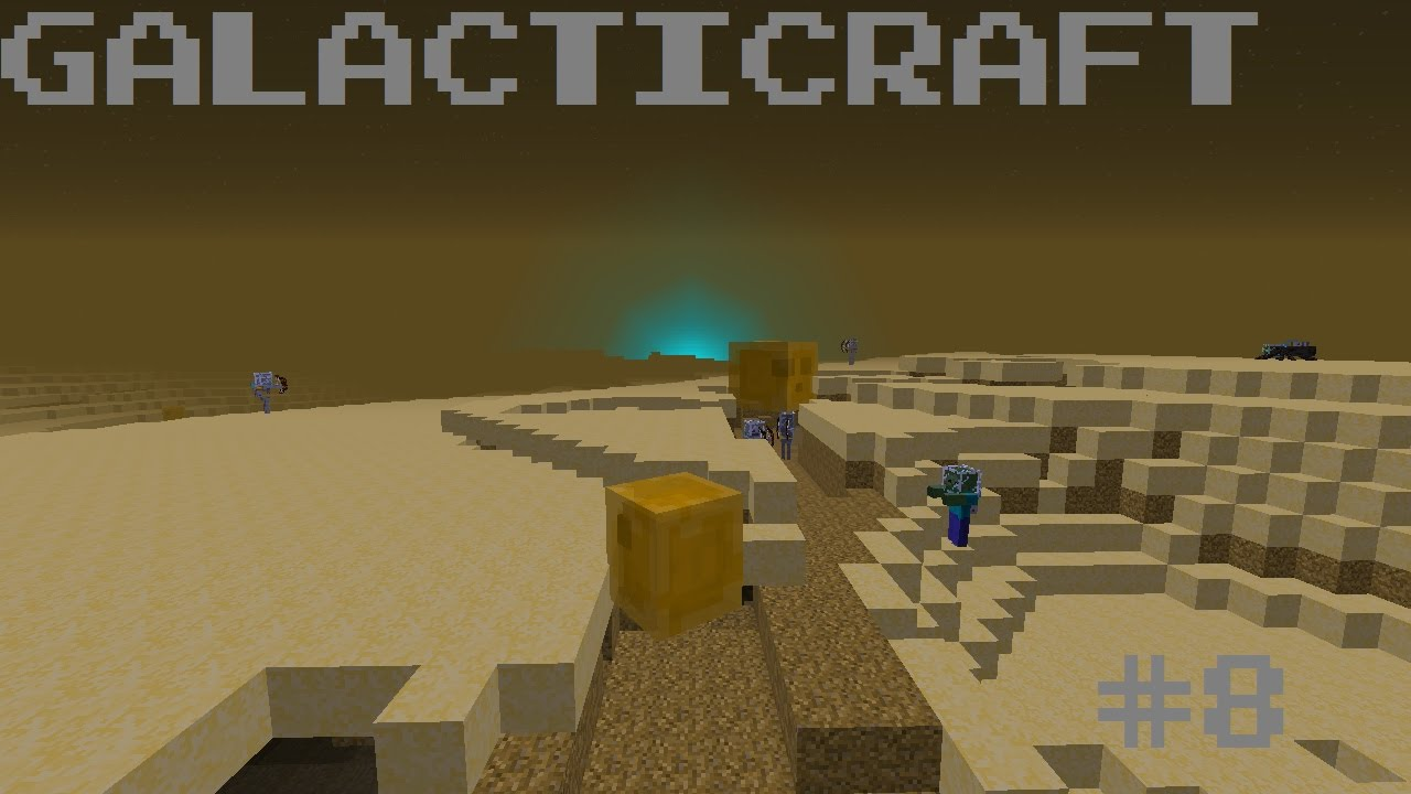 Galacticraft Planets galacticraft part 8 - a planet made of cheese - youtube